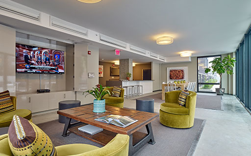 entertainment room - ParkandGarden hoboken nj